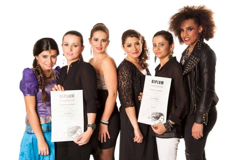 Kreative Talente gehen zu Swiss Beauty Academy